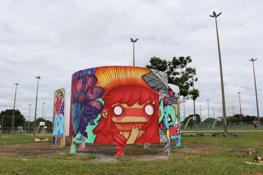 O legado artístico do Conexões MSF em Brasília está no Parque da Cidade. O público está convidado a conferir o resultado final da intervenção que reflete as dificuldades das pessoas que vivem com Chagas.